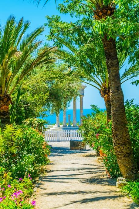 Mallorca Son Marroig Garten schöne Hochzeitslocation