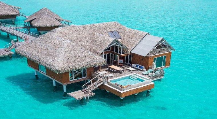 InterContinental Resort & Thalasso Spa Wohnbeispiel Wasservilla