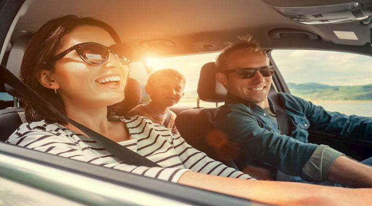Auto Familienurlaub