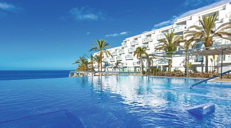 Infinitypool des Hotel Riu Buenavista