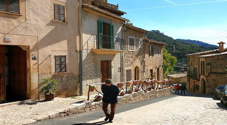 Valldemossa Überwintern auf Mallorca