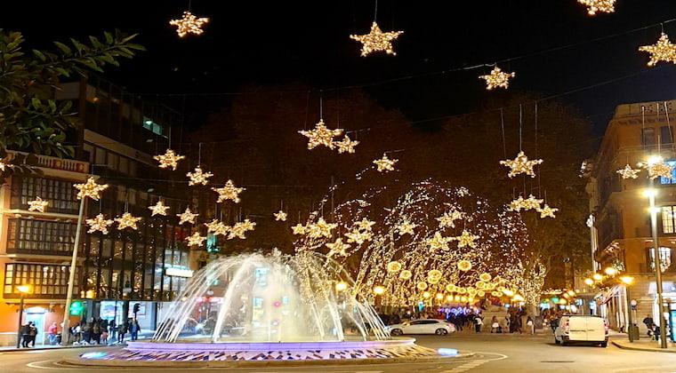 Weihnachtsbeleuchtung Palma