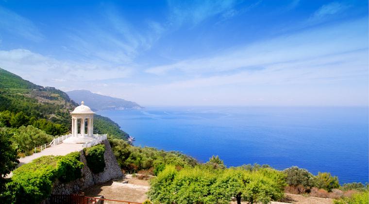 Mallorca Son Marroig Meer Tempel