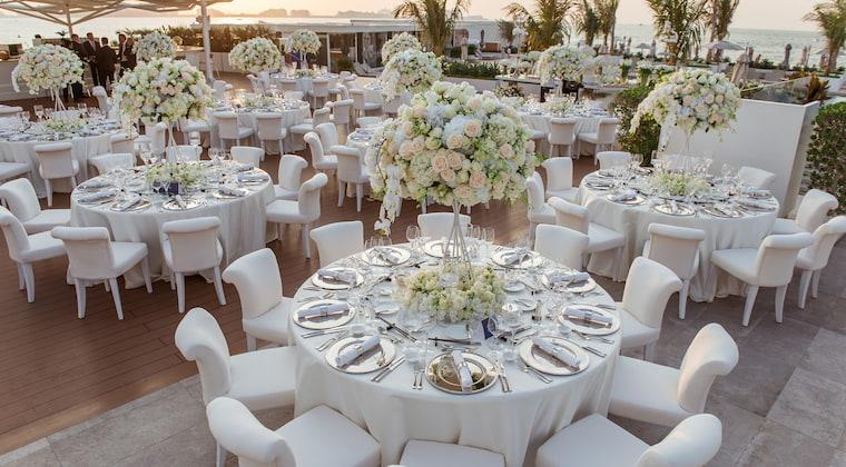Sunset Dinner Hochzeit im Burj al Arab