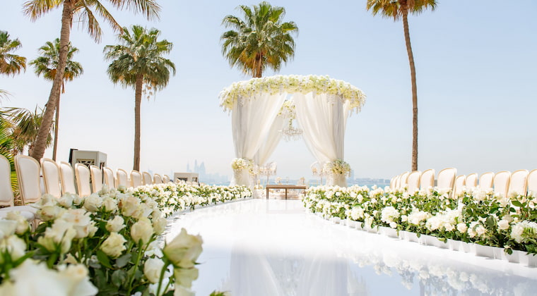 Burj al Arab Palm Garden Hochzeit