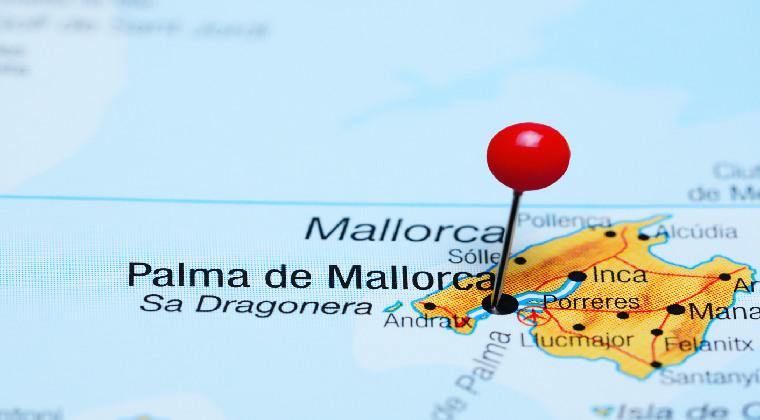 Karte Palma de Mallorca
