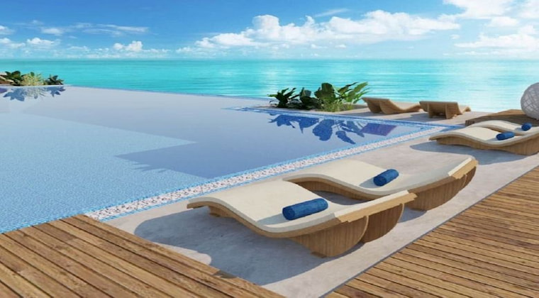 Malediven TUI BLUE Olhuveli Hauptpool