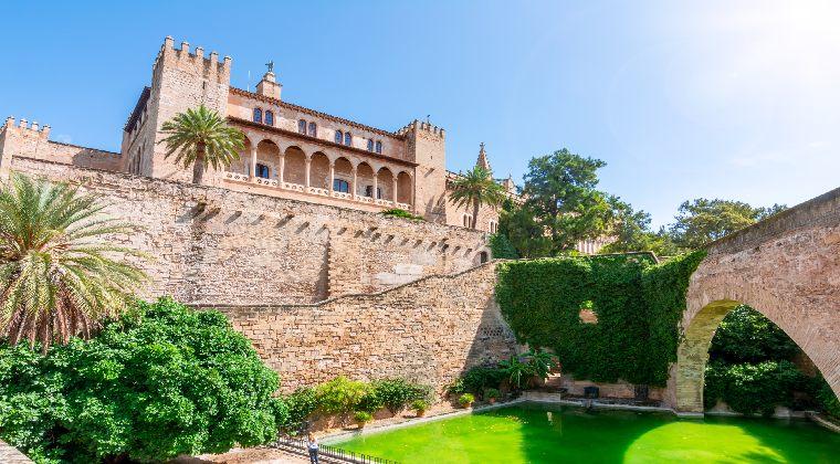 Mallorca Palma Palast La Almudaina
