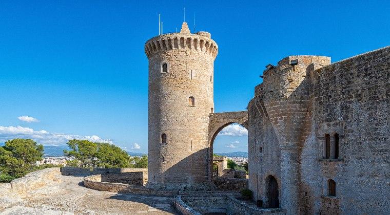 Palma Sehenswürdigkeiten Burg von Bellver
