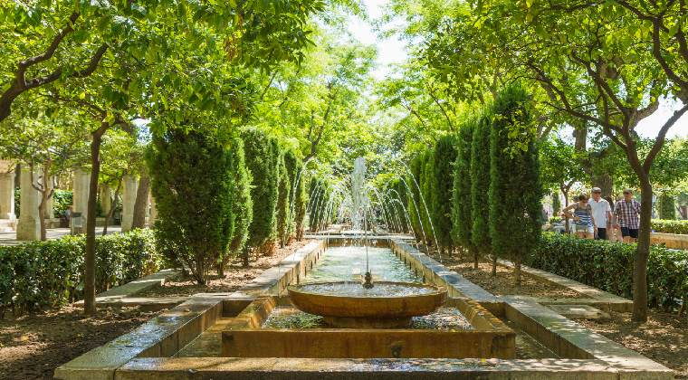 Die Wassergärten in Palma