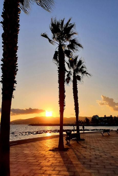 Portixol Mallorca Sonnenuntergang