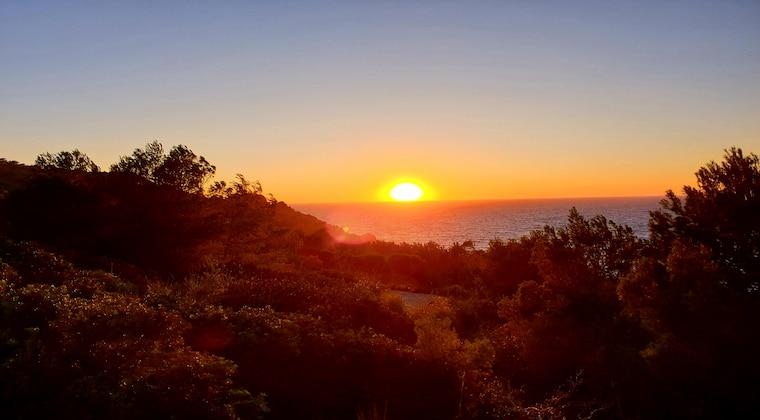 Sonnenuntergang am Gap Gros bei Port Soller auf Mallorca