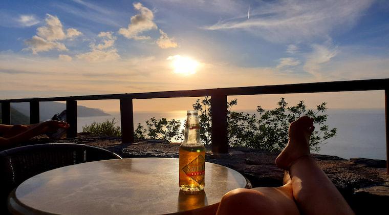 Mallorca Sonnenuntergänge Sa Foradada Bar