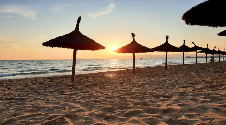 Sonnenuntergang Playa de Palma