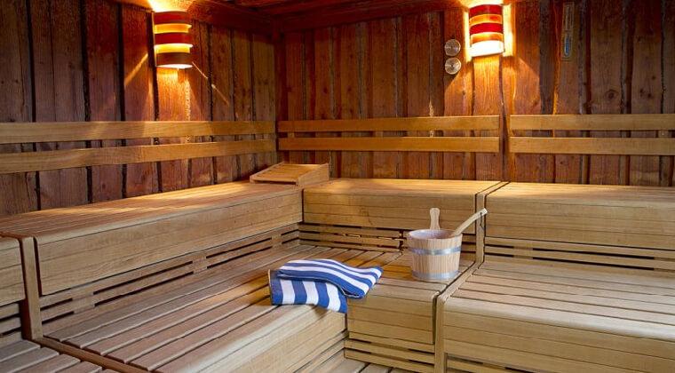 Sauna im TUI Blue Sylt