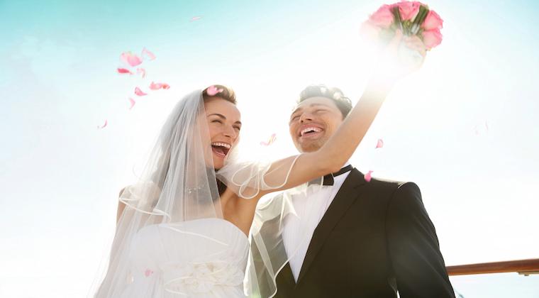 TUI Cruises Brautpaar