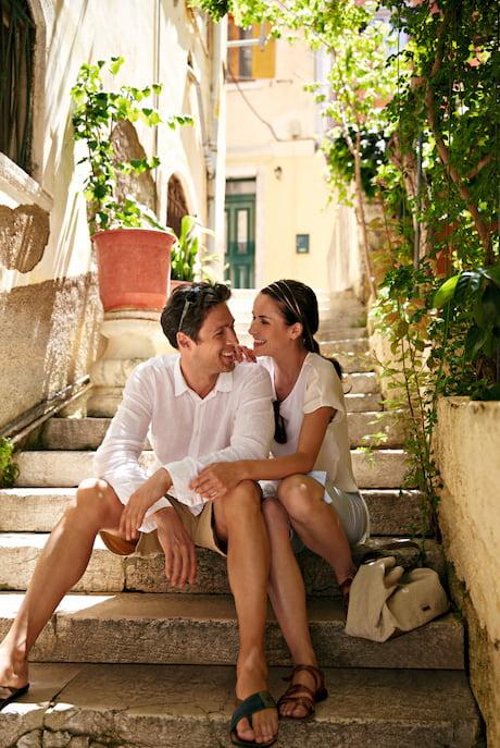 Paar auf Ausflug TUI Cruises