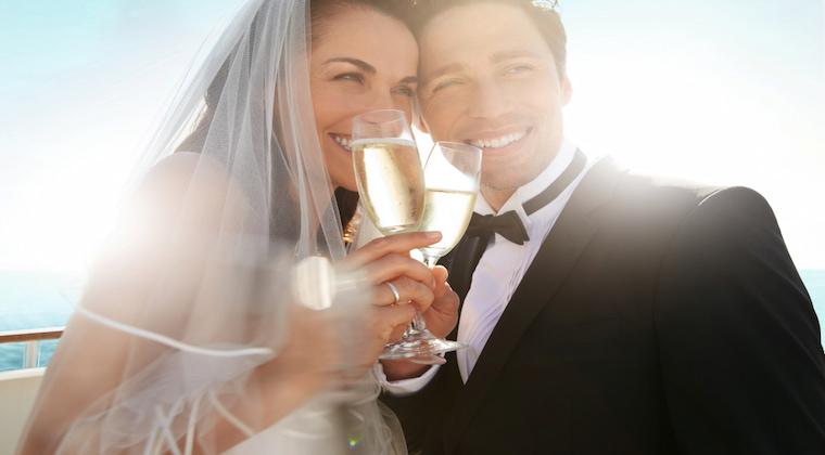 Brautpaar TUI Cruises