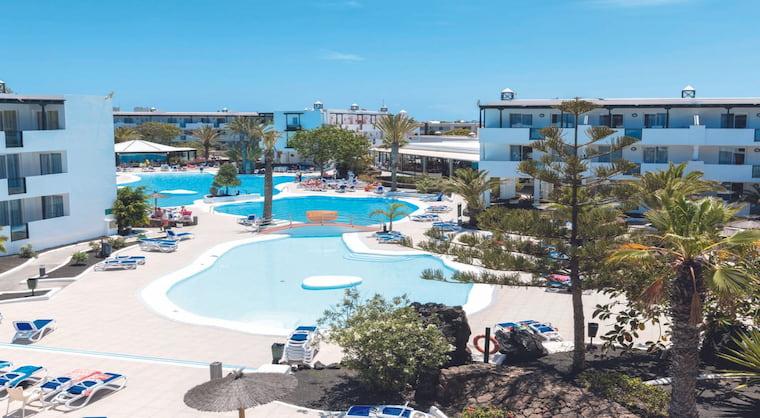 Lanzarote TUI SUNEO El Trebol Hotelanlage