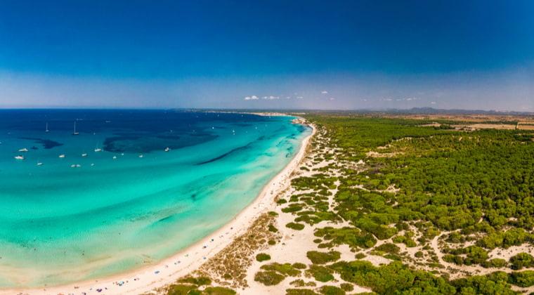 Es Trenc Ses Arenes Mallorca
