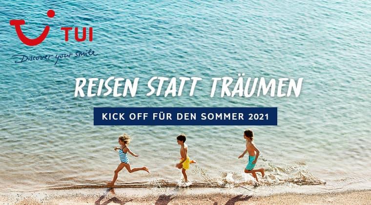 Reisen statt Träumen - Kick Off Sommer 2021