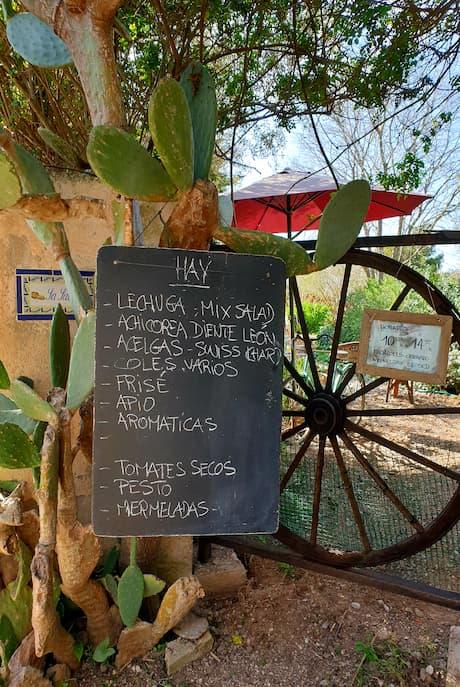 Wandern Mallorca Andratx Hofladen