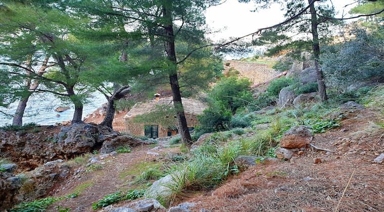 Sa Costera Weg zum alten Elektrizitätswerk