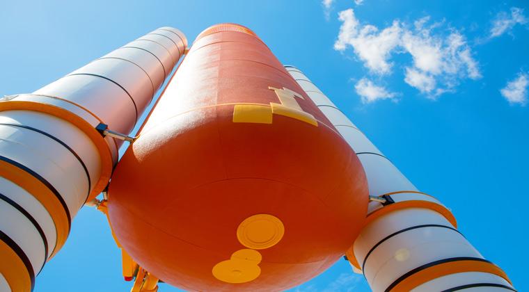 Florida das Kennedy Space Center