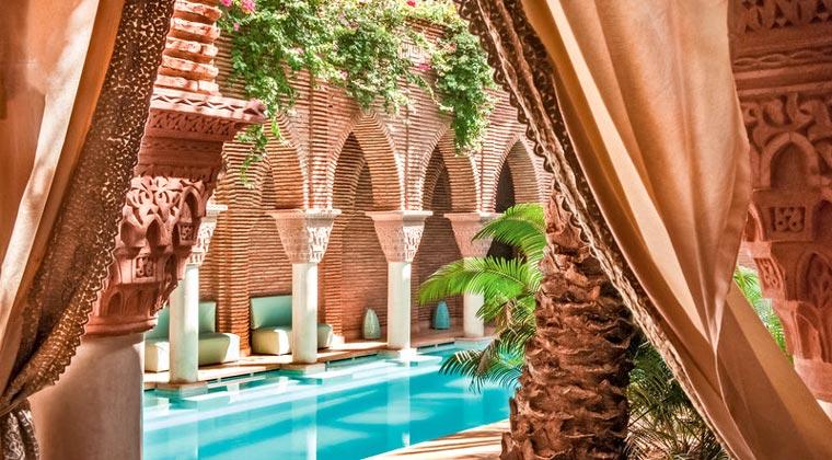 Riads Marrakesch La Sultana Pool