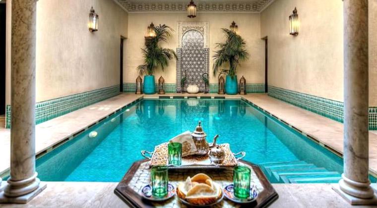 Riads Marrakesch Kniza Pool