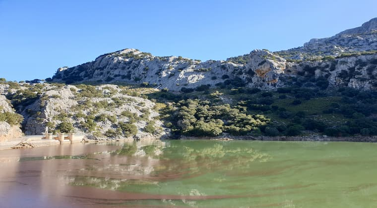 Gorg Blau Stausee Mallorca