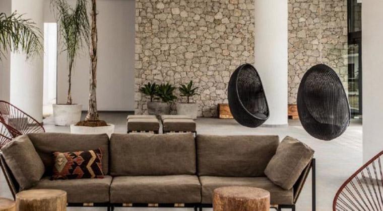 Insel Paros Griechenland Bohemian Luxury Boutique Hotel Lobby