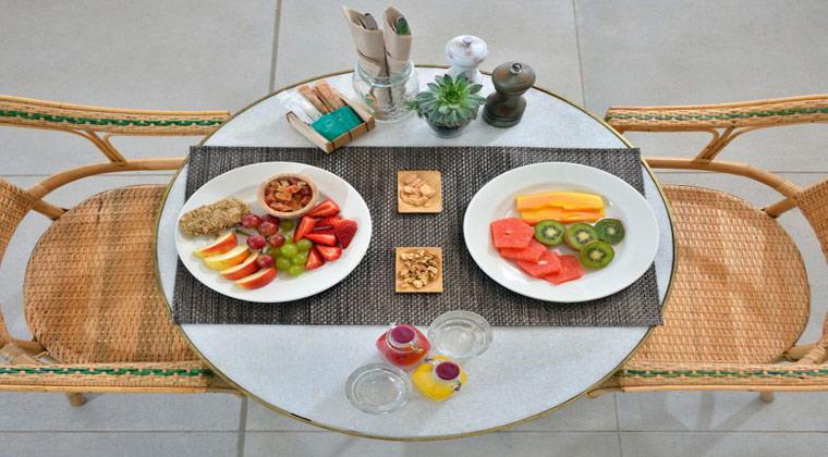 INNside by melia Fuerteventura gedeckter Tisch