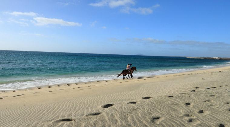 Strandausritt auf den Kapverden
