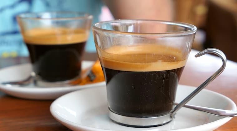 Kaffee Pause auf Menorca
