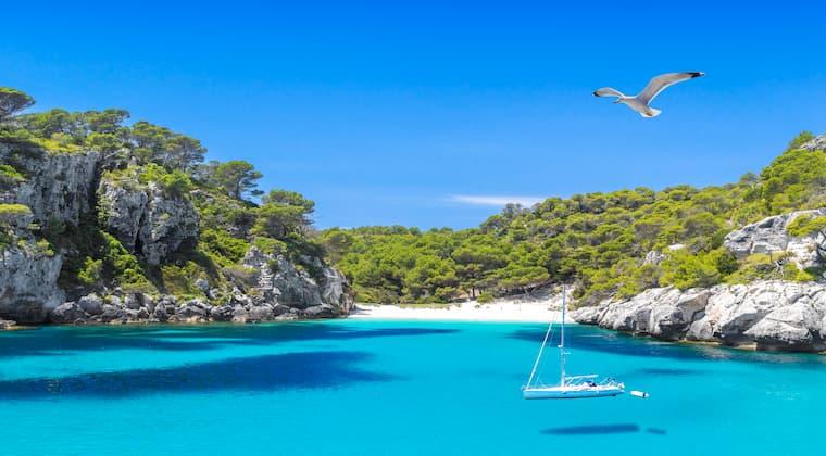 Cala Macarelleta Menorca