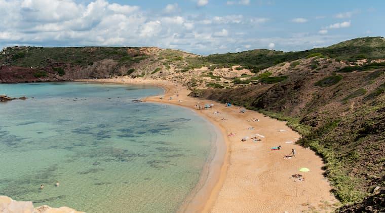 Playa Cavalleria Menorca