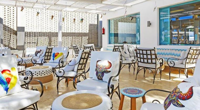 Ägypten Meraki Resort Terrasse