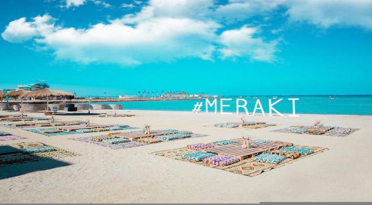 wunderschöner Strand Ägypten Meraki Resort