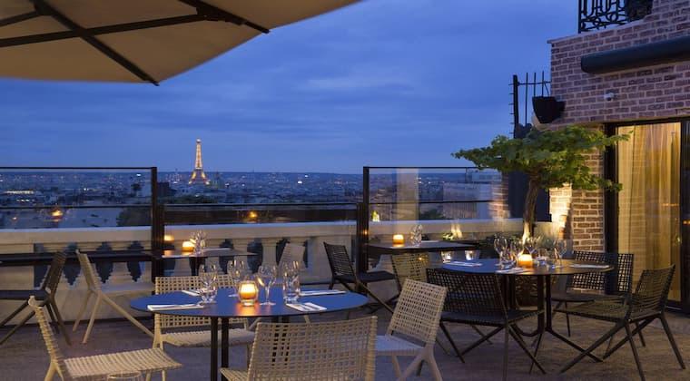 Paris Hotel Terrass