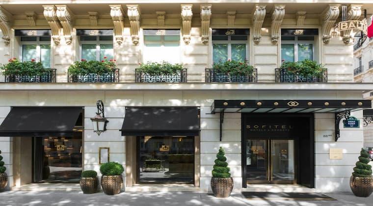 Hotel Baltimore Tour Eiffel Paris Frankreich Flitterwochen