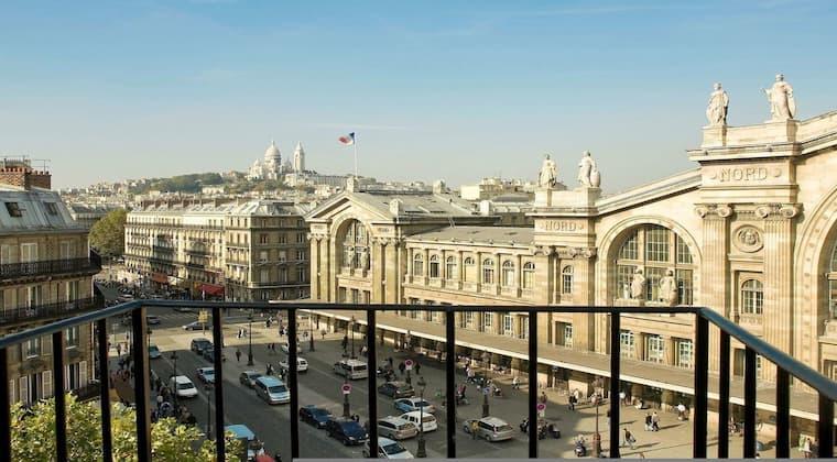 Frankreich Flitterwochen Paris Hotel Terminus Nord