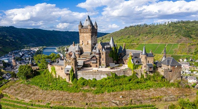 Burgen Deutschland Cochem die Reichsburg