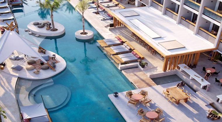 Griechenland Kreta Hotel The Syntopia Pool
