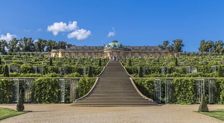 Schlösser Deutschland Potsdam Sanssouci