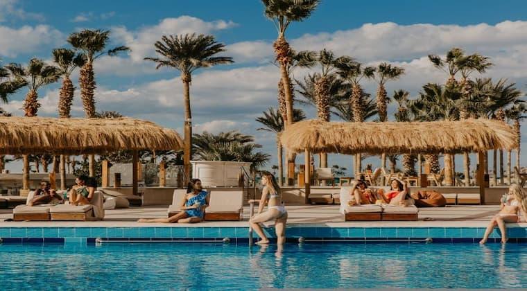 Pool Meraki Resort Erwachsenenhotel Ägypten