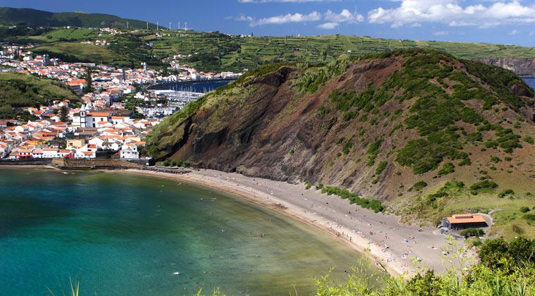 Porto Pim Azoren Strände Insel Faial