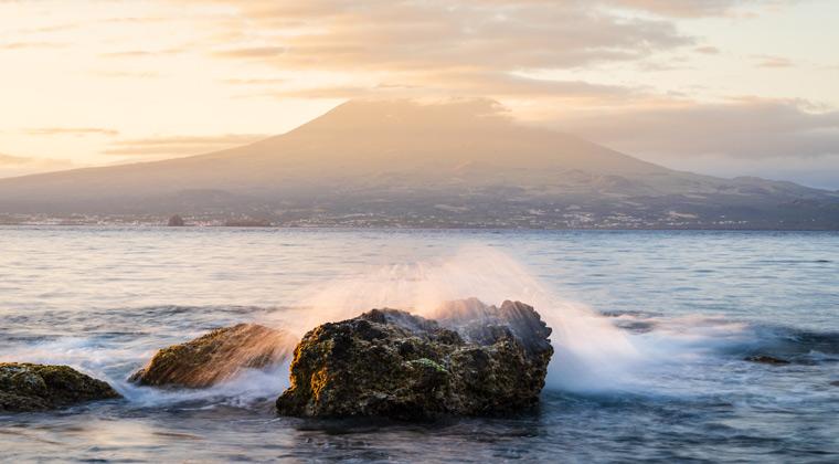 Azoren Strände Almoxarife Insel Faial