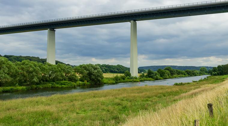Die Ruhrtal Brücke