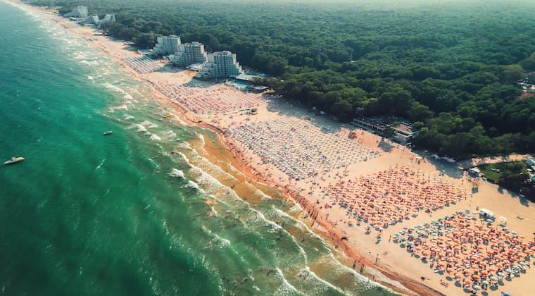Bulgarien Strand Albena